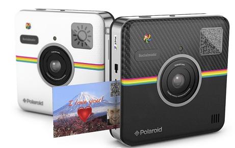 Polaroid Socialmatic Camera Develops Photos in a Flash