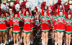 Senior Spreads Christmas Cheer