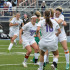 Immediately after senior Anna Romano made the winning goal, juniors Laney Ulowetz, Madeline Hollenbeck, Stephanie Ostrander and Sarah King ran to hug her. The Storm won 3-2 against Smithville to advance them to the semifinal game that will be played at Blue Springs South High School at 12 pm June 5.