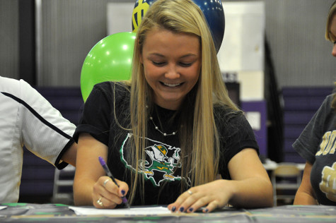 Heide Signs for University of Notre Dame Softball