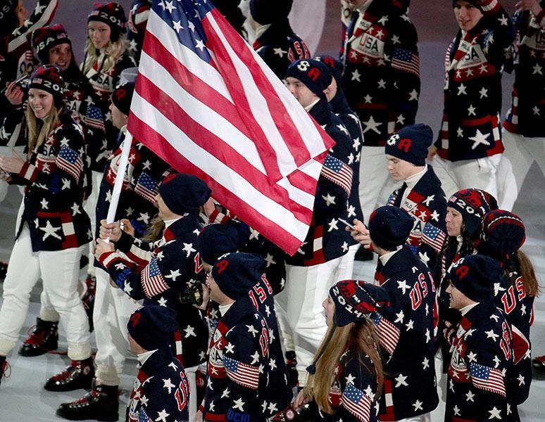 Sochi Winter Olympics Opening Ceremony