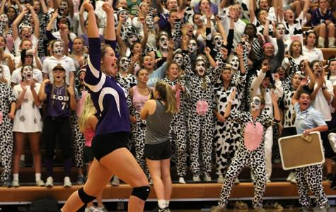 Volleyball Shows Heart in Game Against St. Teresa's
