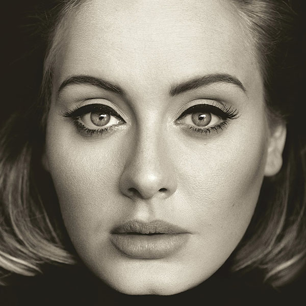 The album cover for Adele's
