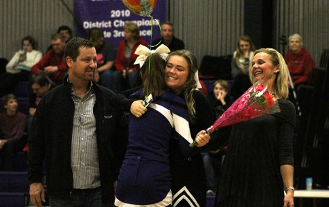 Cheer Senior Night and Varsity Basketball Game Against Jeff City Photo Gallery