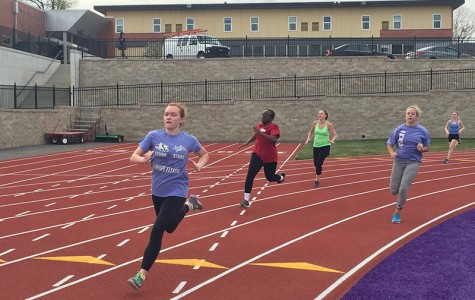 Inter-squad Track Meet Starts Season of Firsts