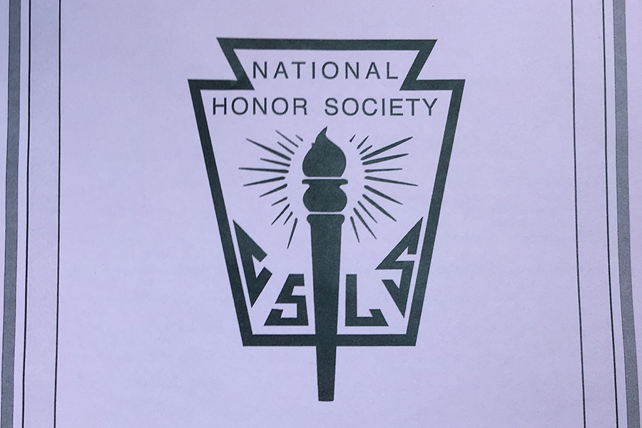 National Honor Society inducted 43 new members Wednesday, April 19.