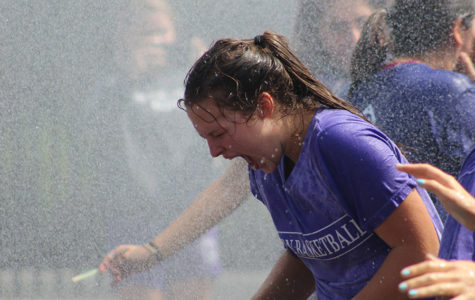 Dodgeball and Firefighters Highlight Freshman Field Day