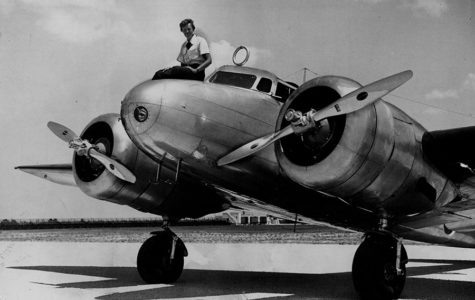Amelia Earhart in a 1937 file image. Researchers hope images from her departure from Miami Municipal Airport may hold clues to her disappearance during an attempted around-the-world flight.