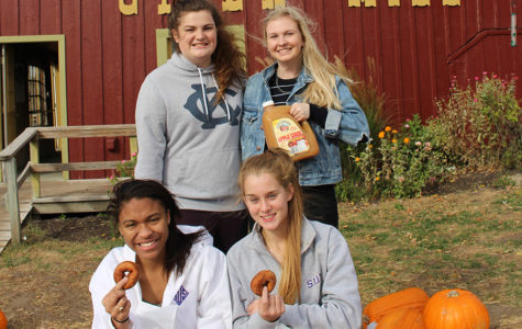 Try Gals Try the Louisburg Cider Mill