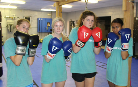 Try Gals Try to Box
