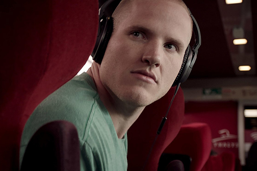 "Spencer Stone stars as himself in ""The 15:17 to Paris,"" the true story of three Americans who stopped a terrorist attack on a train bound for Paris."