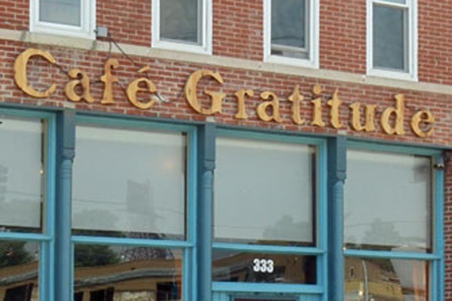 Cafe Gratitude Kansas City Menu