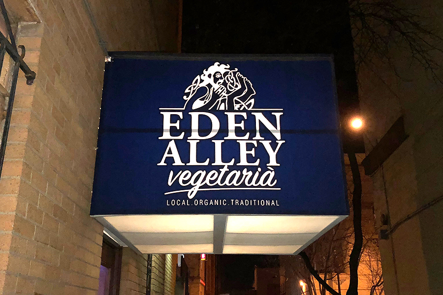 Eden Alley Vegetaria, located at 707 West 47th Street, Kansas City, Missouri 64112.