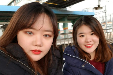 Students of Sion: Jiho Lee and Su Hyun Park