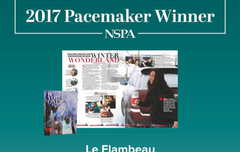 Le Flambeau Brings Home Pacemaker Award
