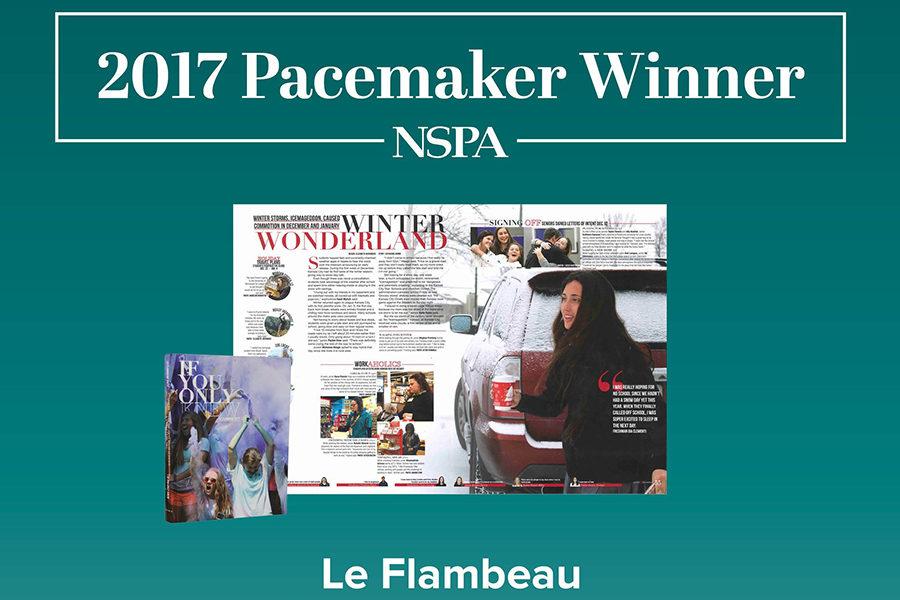 Le Flambeau Brings Home Pacemaker Award