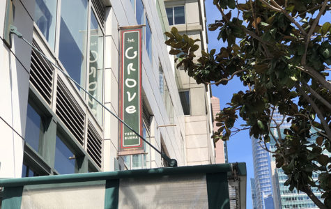The Grove is located at 690 Mission St. in San Francisco, California.