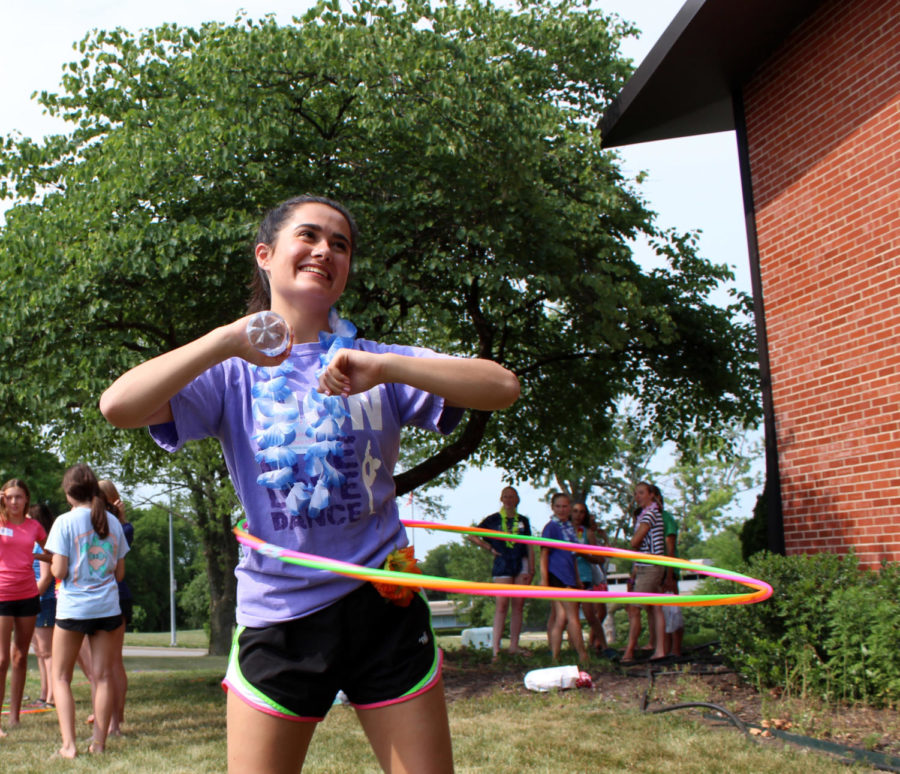 Incoming Freshmen Attend Summer Splash