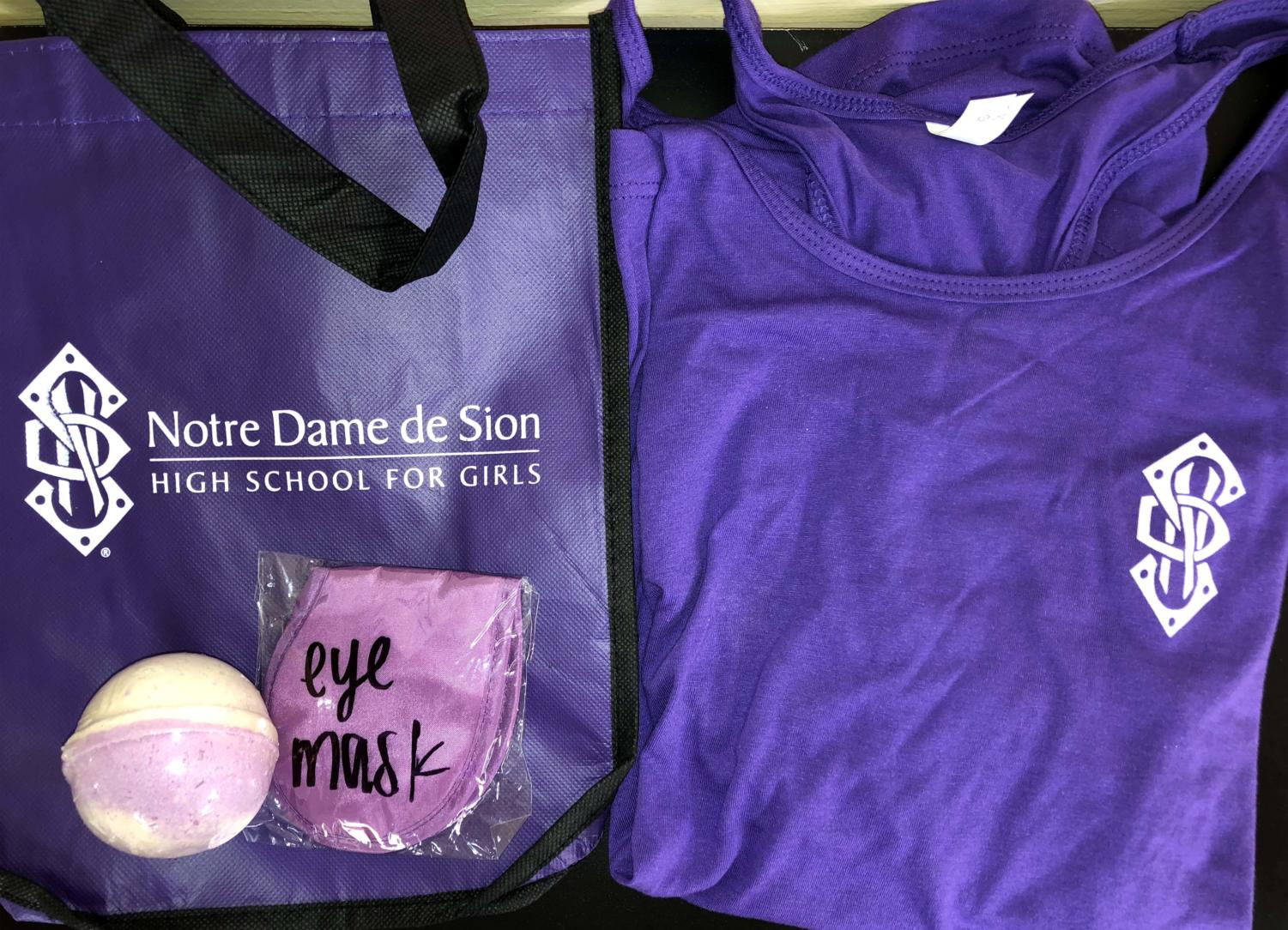 "At the open house families will have an opportunity to meet with Sion's counselors and receive a complimentary wellness bag filled with a tank, bath bomb, and eye mask.  ""We included the wellness bags to show that the counselors help take care of you all and we want you to take care of yourselves as well,"" admissions director Katie Glatz said."