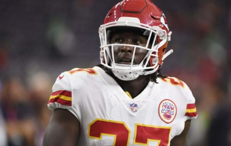 Kareem Hunt was released from the Chiefs after a video was released of him assaulting a woman Nov. 30.