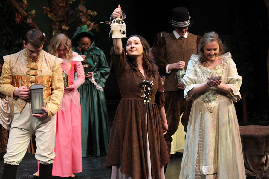 "During act one of ""Into the Woods,"