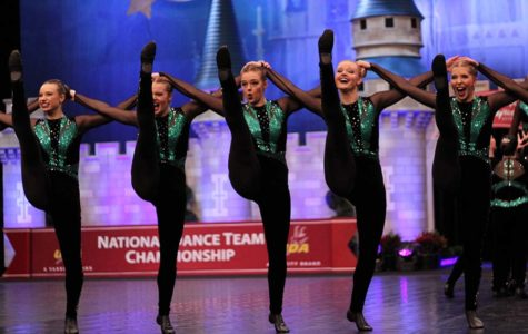 Dance Team Doubles Down at Nationals