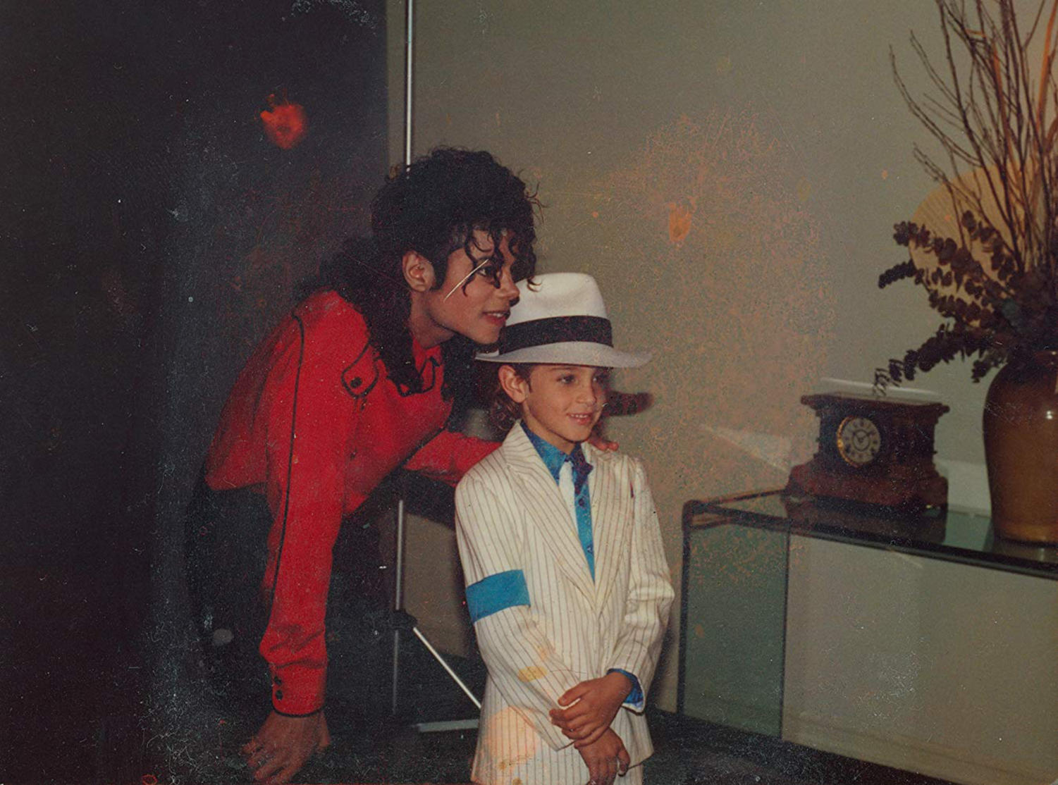 Michael Jackson and Wade Robson in
