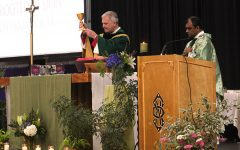 Bishop Joins Sion for All-School Mass