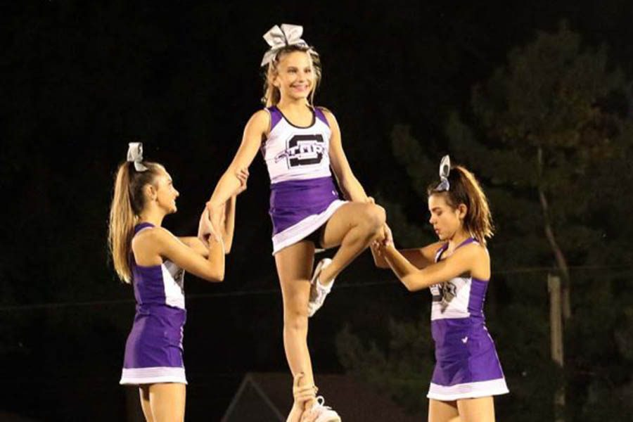 Cheer Performs at Rockhurst