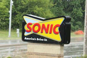 "With a retro-style sign, Sonic is known as ""America's Drive-In."""