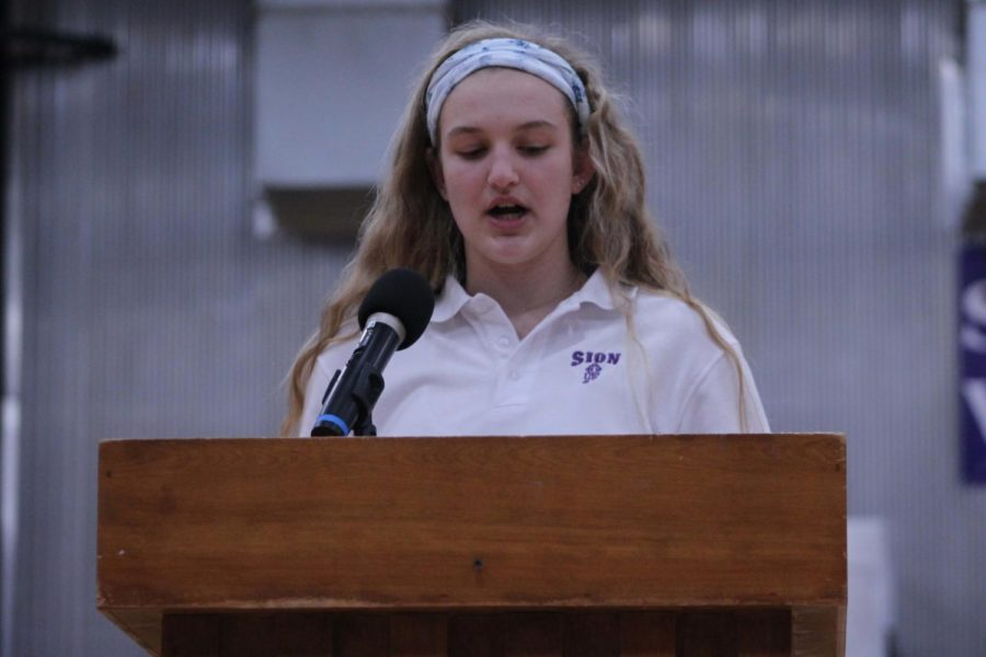 Sophomore Mikayla Gunther was elected as Executive Secretary last spring, following her speech on March 28, 2018. Speeches and elections for Executive Officer positions will be held March 19.
