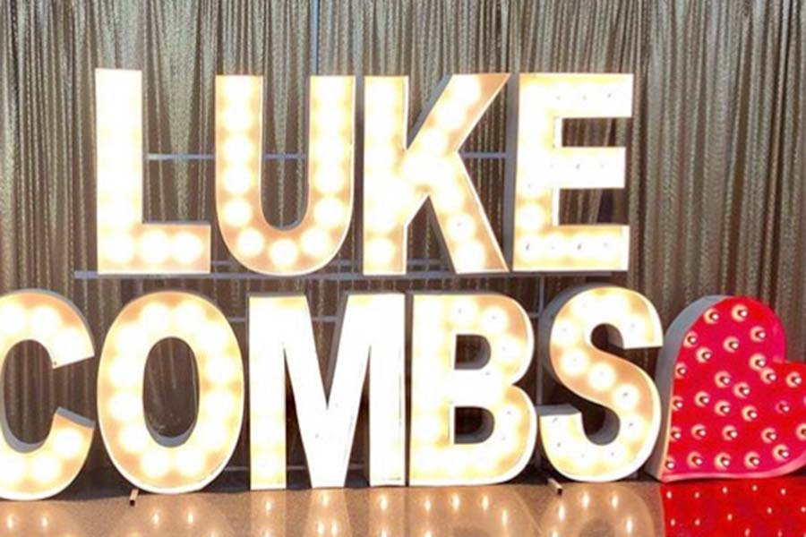 Luke Combs performed in Kansas City Friday, Oct. 4 for  his