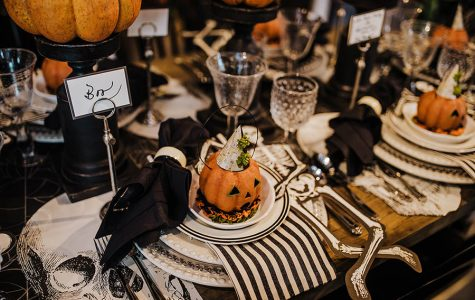 Use seasonal phrases and quotes instead of names at your next holiday dinner party. (Katie Laughridge/TNS)