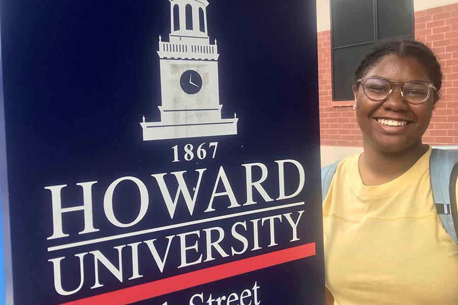 Senior Maya Scott attended Howard University's first year of their residential Entrepreneurship Enrichment Program this past summer.
