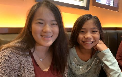 Junior Grace Riley connected with her cousin Yi Mei Hahn through 23andMe DNA testing. The pair met for the first time at Houlihan's Oct. 27 with their mothers, Alison Riley and Rose Hahn.