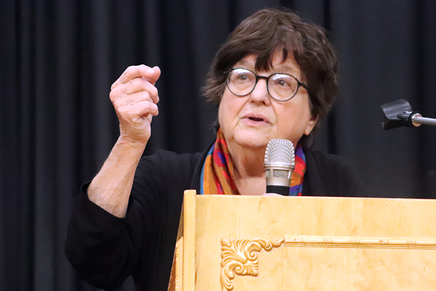 Sr. Helen Prejean, from