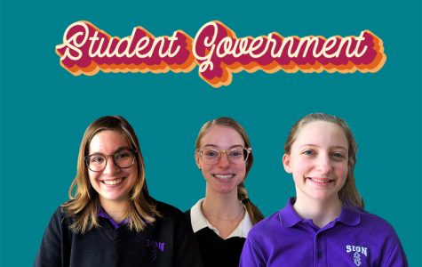Following Feb. 13 elections, junior Mary Hudak is the new student body president, sophomore Tess Tappan is the new student body vice president and freshman Sophie Gromosky is the new student body secretary.