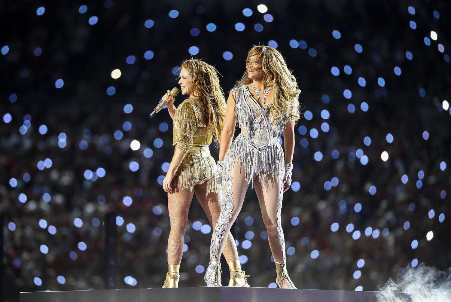 Singers Shakira and Jennifer Lopez performed at the Super Bowl LIV halftime in Miami, Florida Sunday, Feb. 2. The Kansas City Chiefs won 31-20 against the San Francisco 49ers.