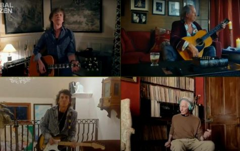 """Performing """"You Can't Always Get What You Want,"""" The Rolling Stones participated in the One World: Together At Home telecast April 18."""