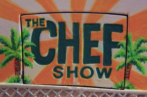 "Actor and producer Jon Favreau and chef Roy Choi co-star in the Netflix Original TV Series ""The Chef Show."""