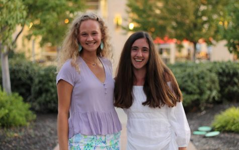 Senior Olivia Overlease (left) and Grace Hill (right) go out to dinner at North Italia early Sept.