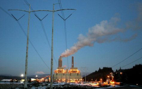 A coal plant continuously releases toxins, such as mercury, lead and sulfur.
