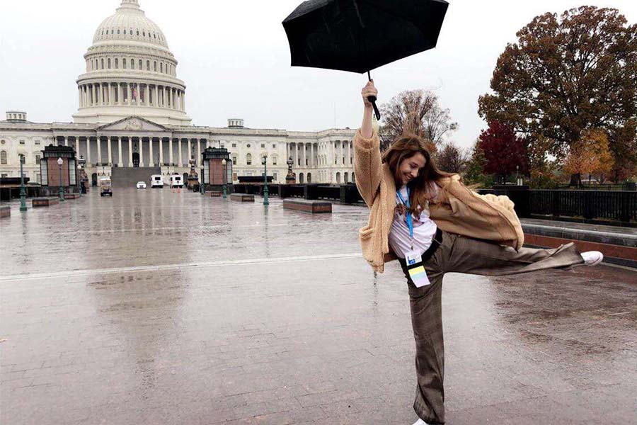 Through the journalism program, I was able to travel to Washington D.C. for a journalism conference in Nov. 2020.