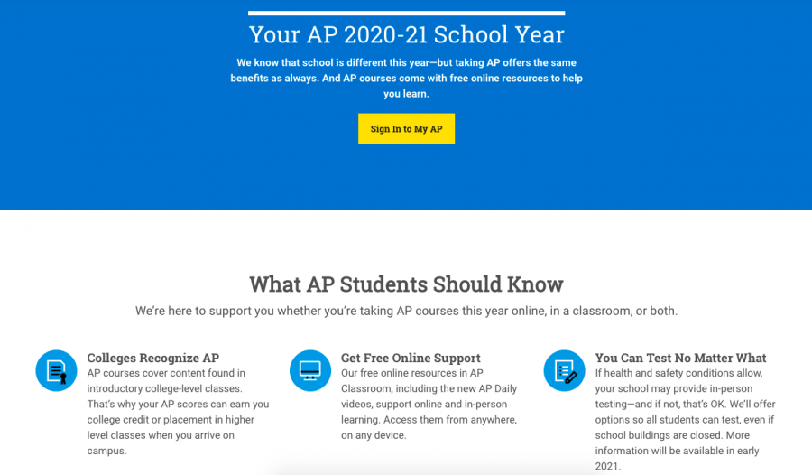 AP encourages students to prepare and start preparing for the May exams on the AP College Board portal.