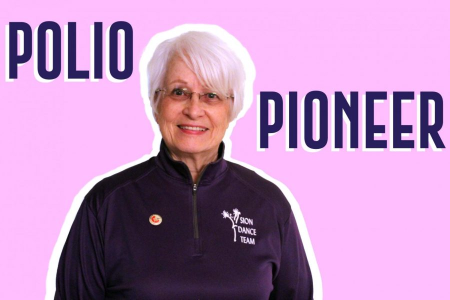 Dance team coach Marion Gould, known as G, was a part of the original vaccine trials for polio when she was young.