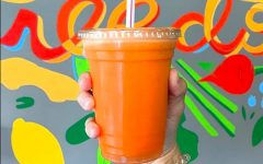 Handcrafted juice from Ruby Jean's Juicery on Troost Avenue