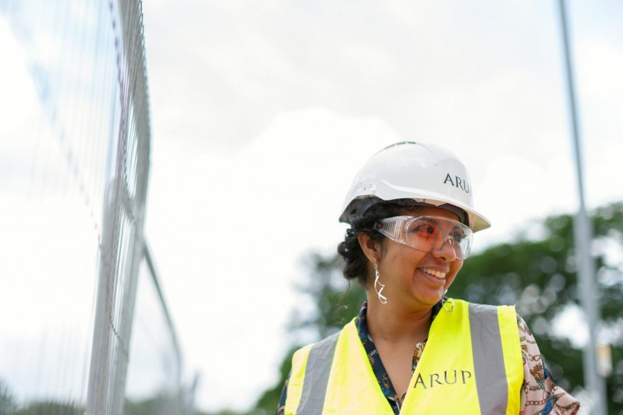 Women are taking traditionally male-dominated jobs, such as jobs in STEM like engineering and construction, to new heights.