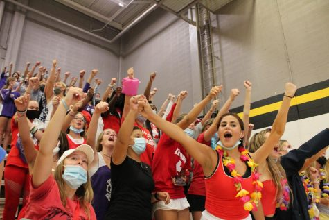 Sion Battles STA In Rivalry Volleyball Game
